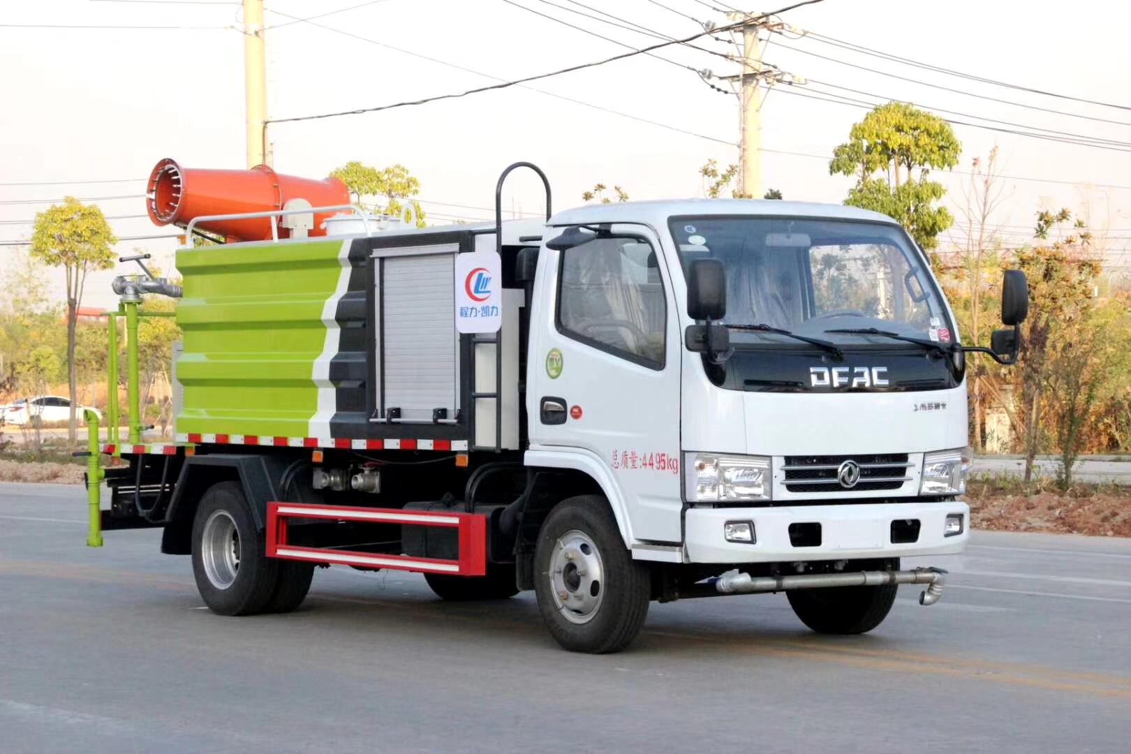 国六东风D6多利卡5吨环球体育网页版app蓝牌30米抑尘车