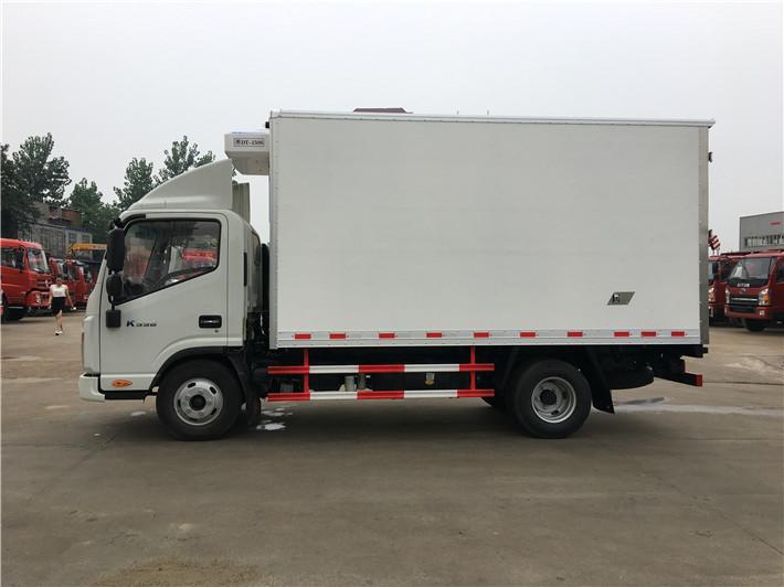 蓝牌冷藏车 新鲜蔬菜用4米2冷藏车拉 江淮冷藏车