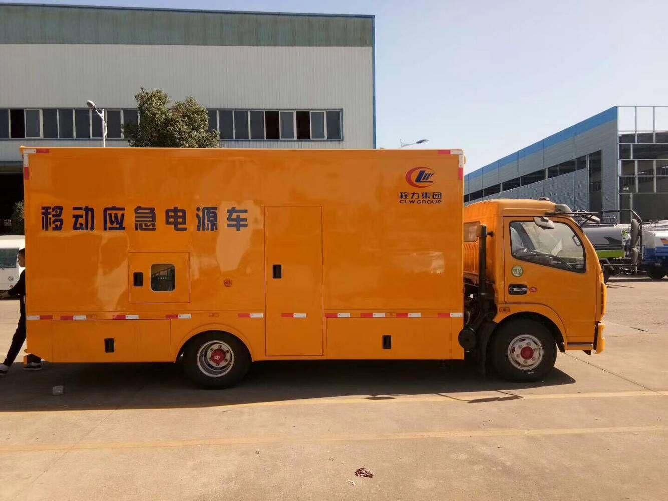 东风多利卡100KW电源车_UPS发电车图片