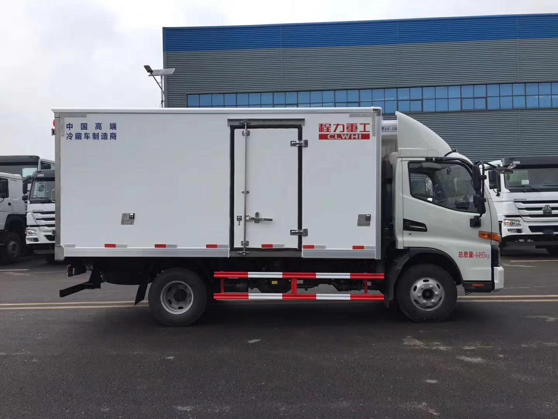 江淮駿鈴v6冷藏車價格程力重工高端品質冷藏車廠家