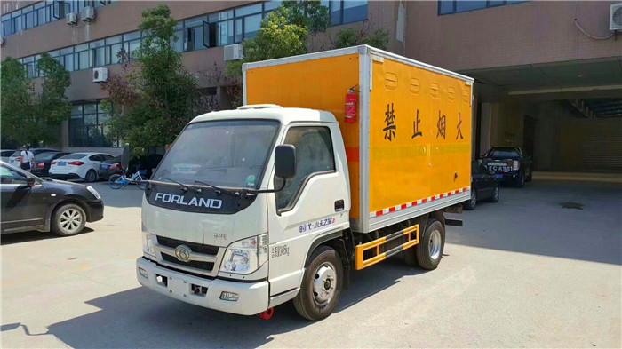 福田小卡爆破器材运输车