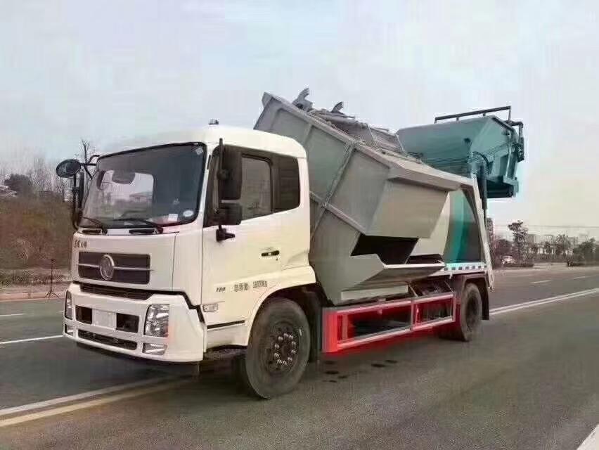 東風分類式壓縮垃圾車圖片