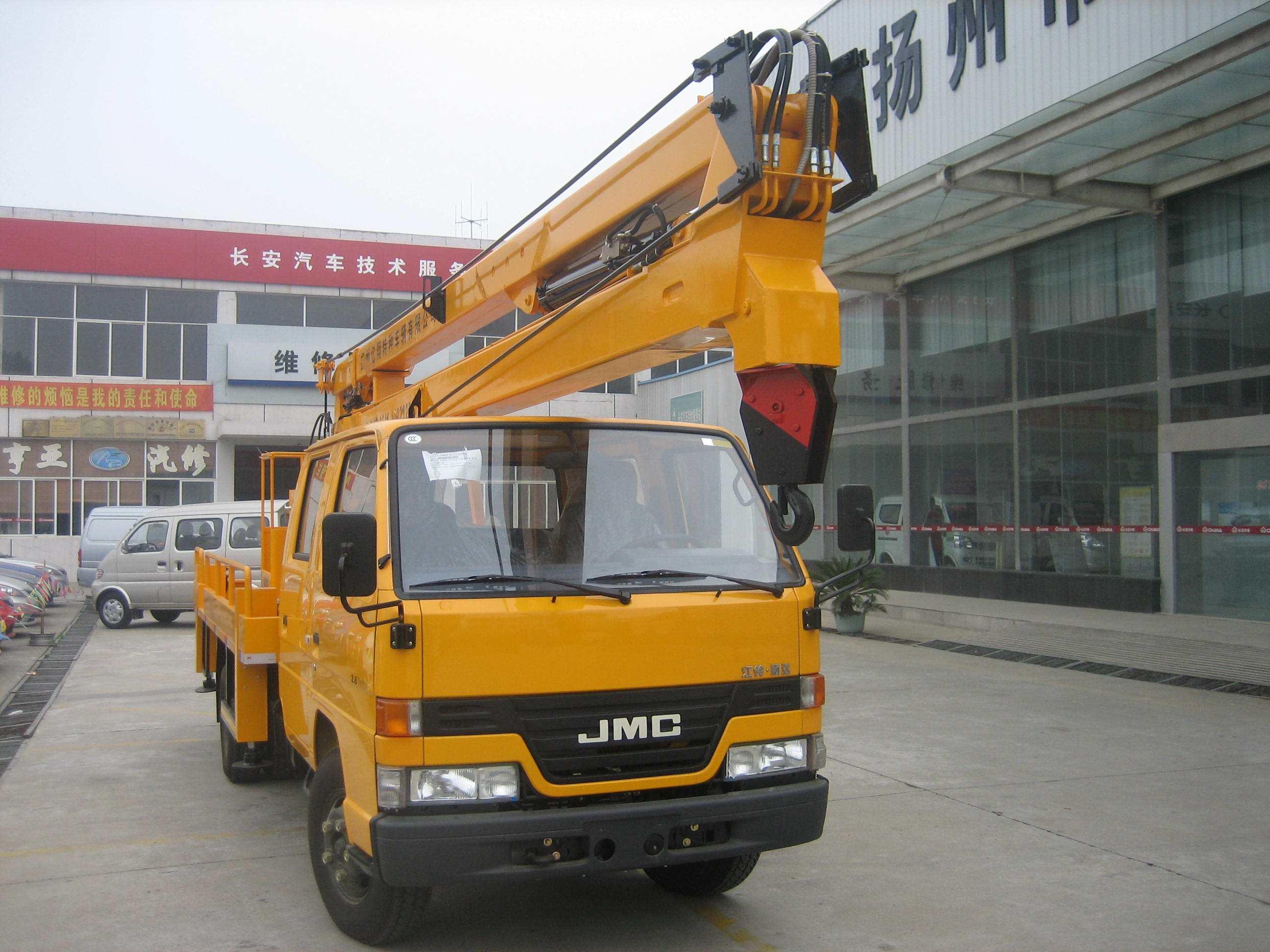 江铃14米-16米高空作业车