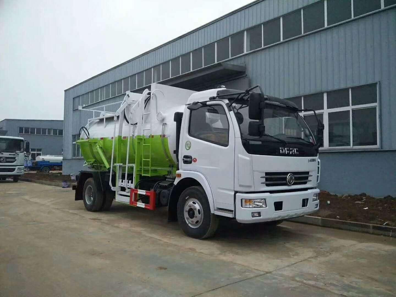 广东清远东风6方餐厨垃圾车多少钱 厂家价格图片