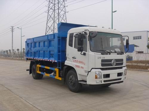 东风7立方8立方LNG自卸式垃圾车