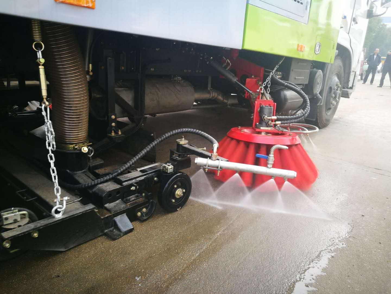 洗掃車作業效果視頻視頻