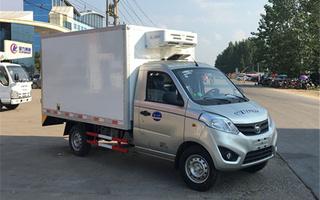 福田伽途冷藏车2.8米图片