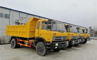 10-15吨自卸车出口|东风10-15吨自卸车生产出口厂家图片