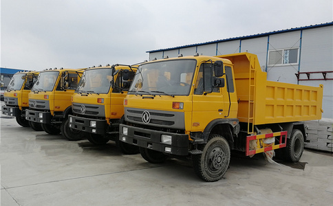 15吨自卸车出口|12-15Ton dump truck