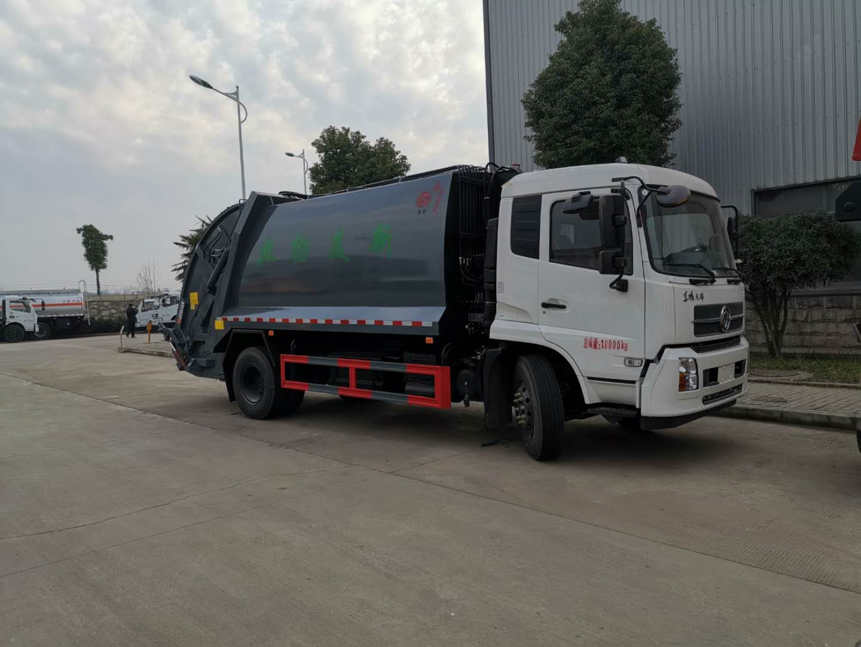 东风天锦14立方压缩垃圾车