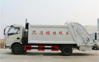 环卫垃圾车厂家直销图片