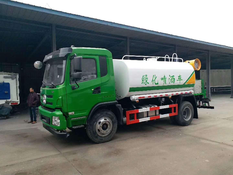 云南昭通10噸~12噸灑水車價格廠家僅售11萬多