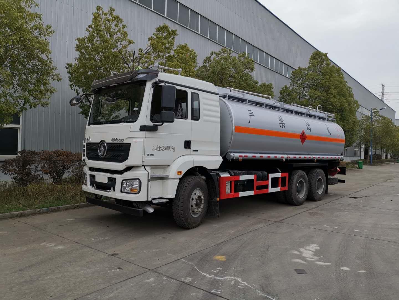 陕汽新M3000油罐车视频