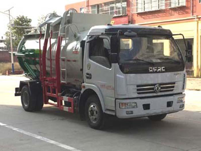 东风国五餐厨垃圾车