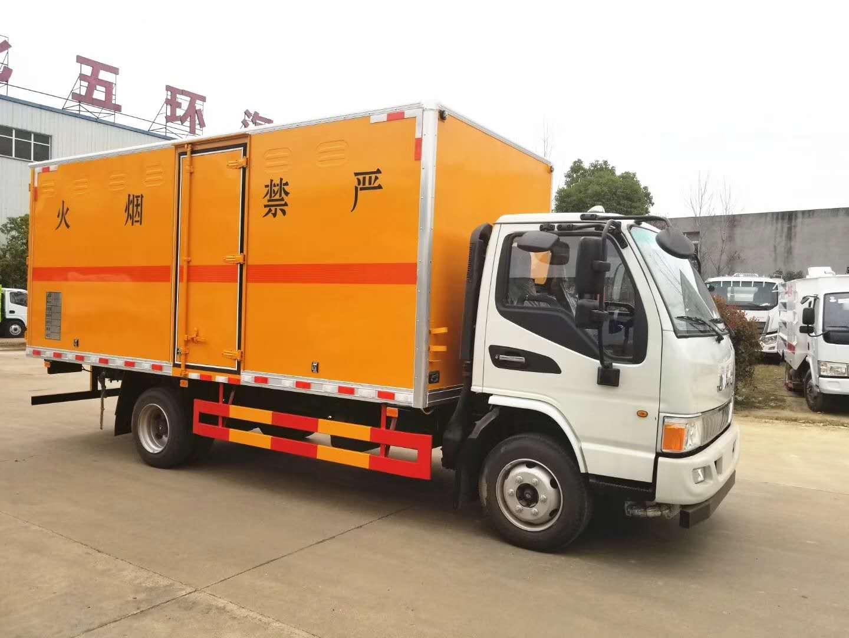 江淮5米载重5吨危险品爆破器材运输车厂家直销