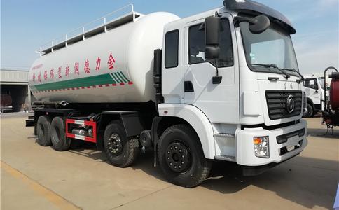 河北省四桥散装水泥车粉粒物料罐车价格