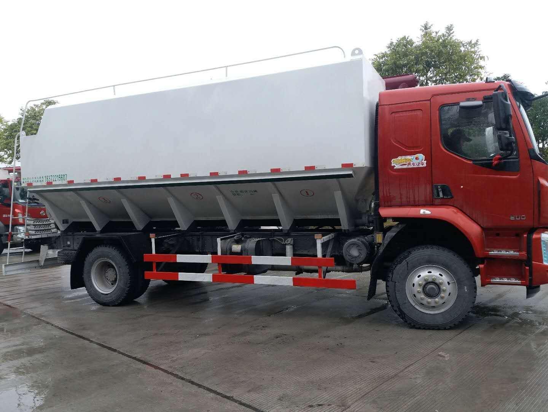 东风柳汽12吨散装饲料车