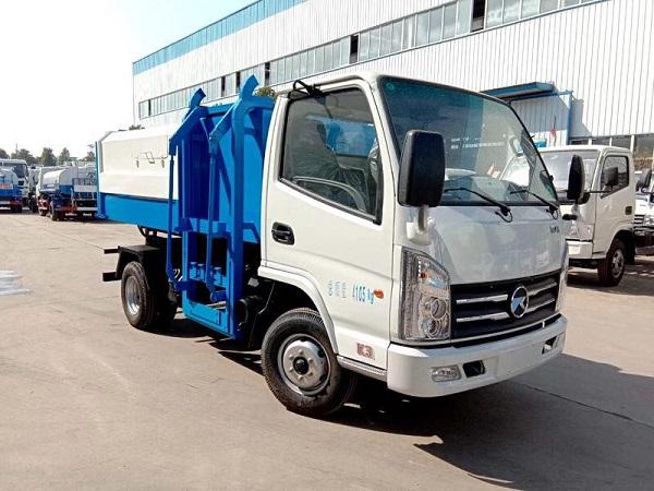 國六凱馬掛桶式垃圾車5方