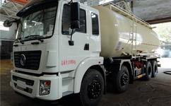 散装水泥罐车运输车原理和构造