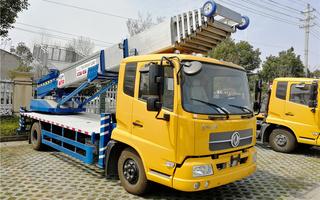 东风天锦45米高空作业云梯车|高空作业搬家车图片