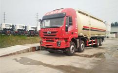 红岩杰狮散装水泥罐车运输车配置