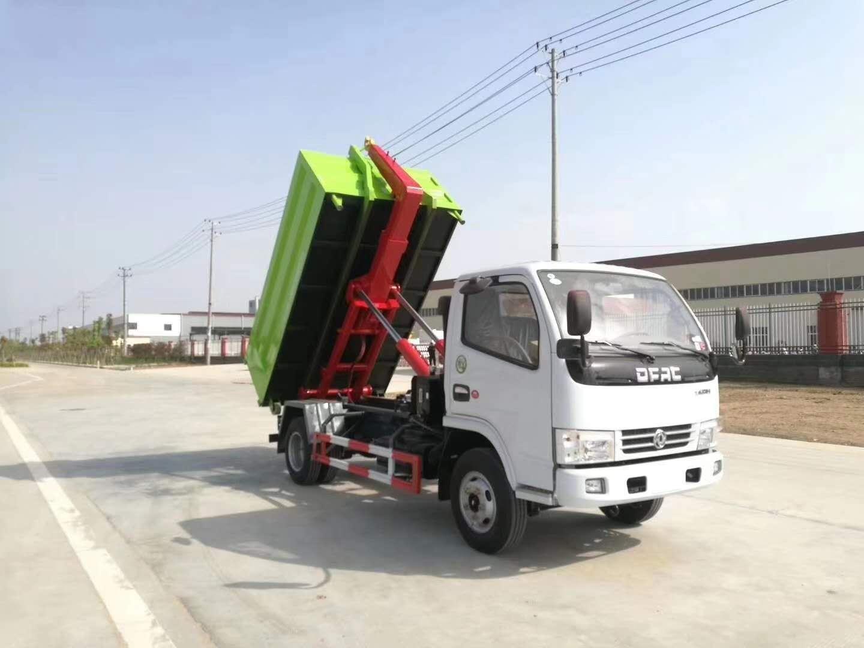 多利卡勾臂式垃圾车视频视频