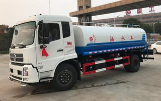 东风天锦14方环卫绿化洒水车图片