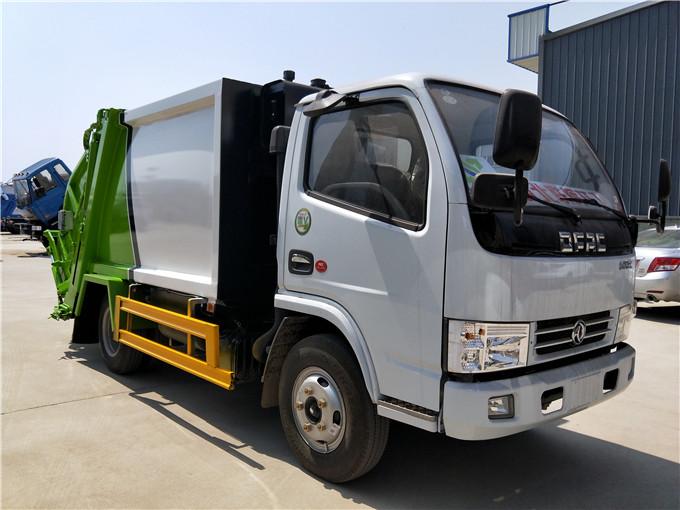 东风多利卡D6压缩式垃圾车