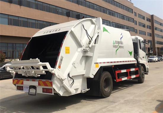 東風天錦14方壓縮垃圾車廠家