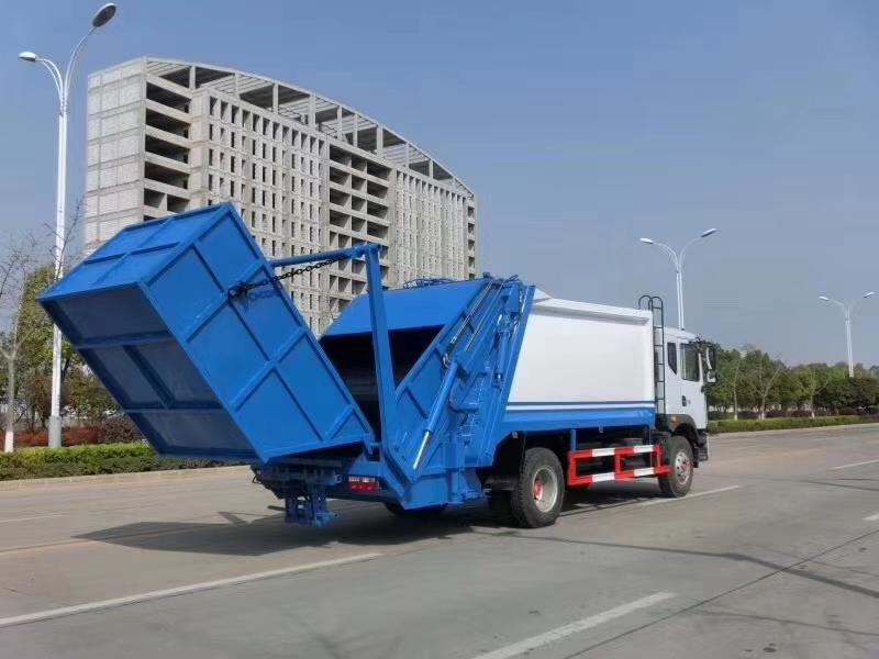 10方摆臂式压缩垃圾车价格
