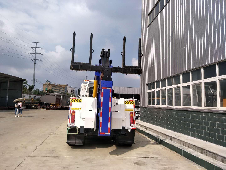 重汽豪沃340拖吊联体清障车 (10)