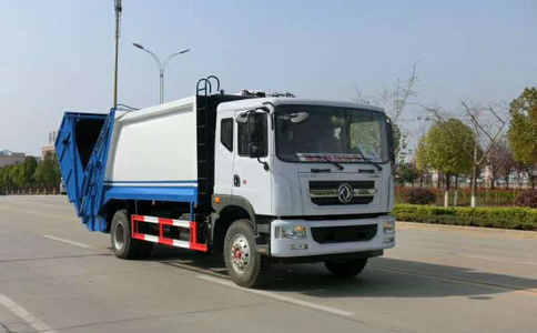 东风D9 (10-12方)压缩式垃圾车详细说明