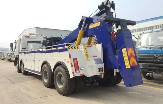 40吨一拖一重汽清障拖车