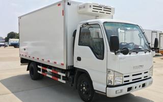 庆铃五十铃100p国五4.2米冷藏车