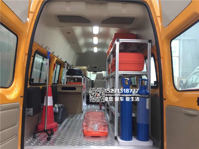 福特V348气防救险车图片