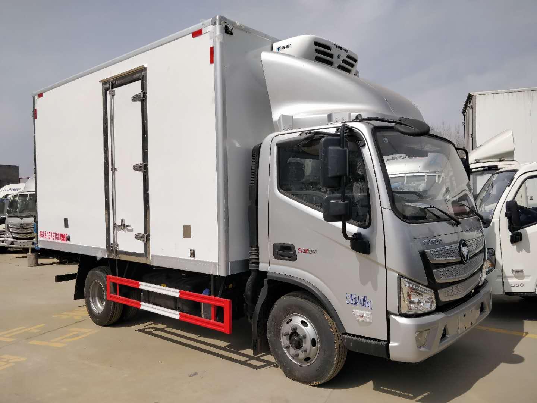 福田欧马可S3单排厢长4.2米冷藏车