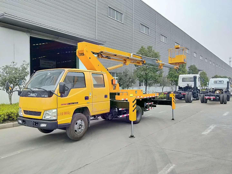 16米直臂式高空作业车|江铃16米伸缩臂式高空作业车