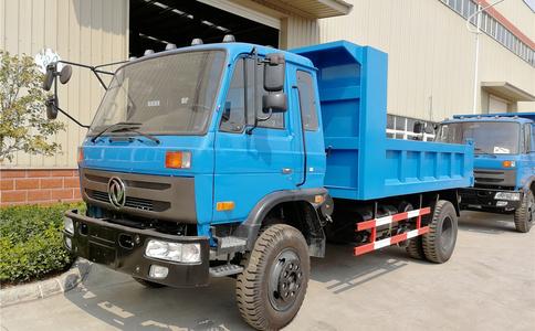 东风10吨自卸车 出口蒙古发车视频