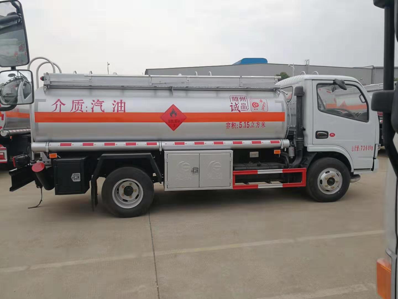 东风多利卡5吨小型加油车运油车图片
