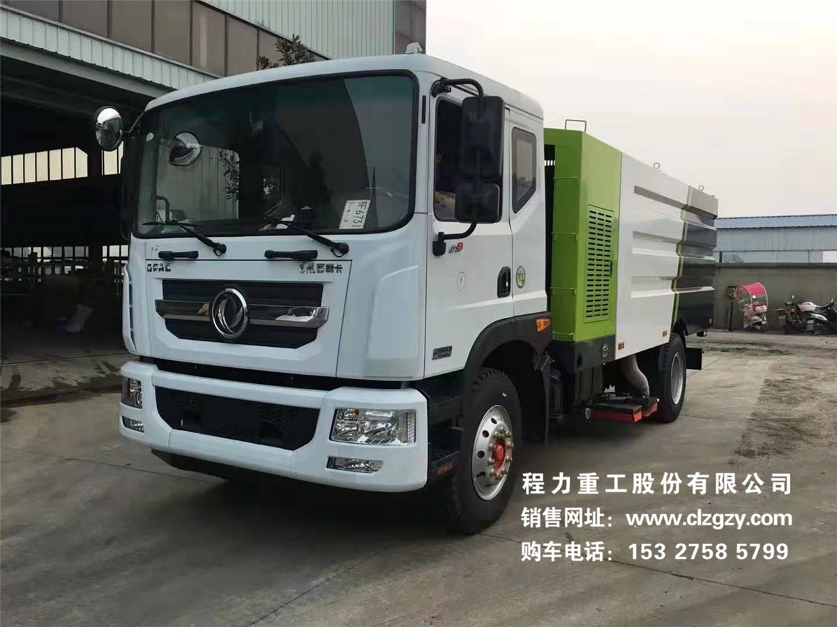 东风D9新款11方吸尘车YZR5160TXCE