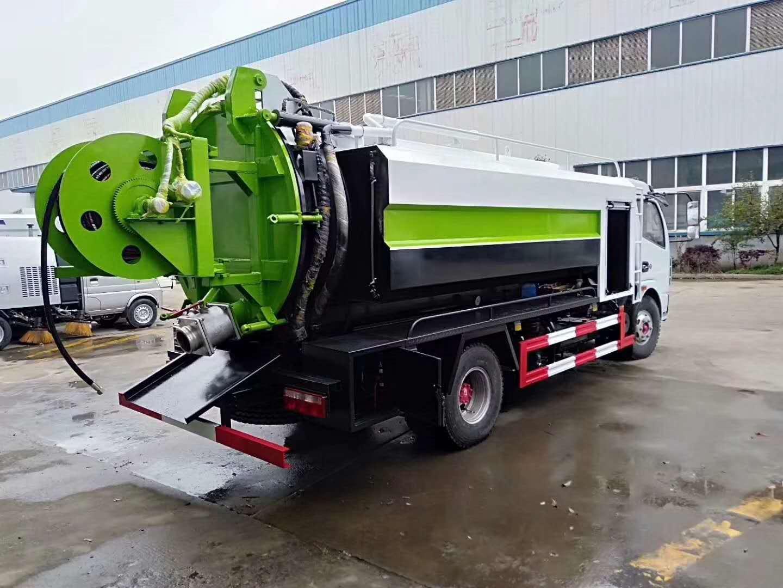 C证可以开的清洗吸污车联合疏通车图片价格