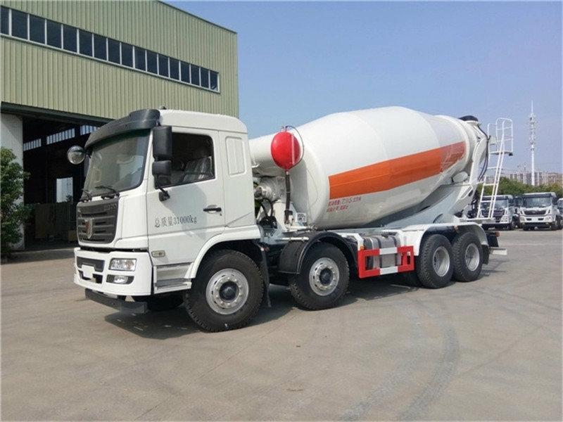 轻量化联合重卡10-14方300马力混凝土搅拌车