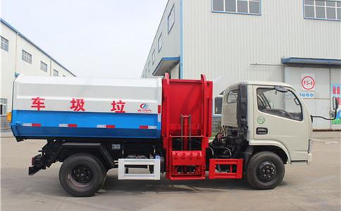 挂桶垃圾车操作流程 东风桶装垃圾车