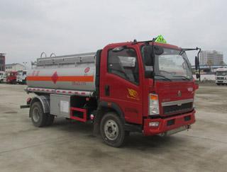 重汽悍将5吨油罐车
