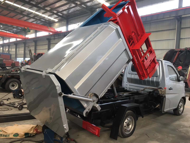 蓝牌长安挂桶垃圾车 可以做多少方