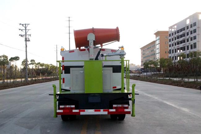 东风5吨小多利卡蓝牌抑尘车图片