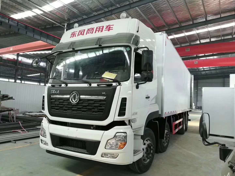 东风天龙9.6米厢体大冷链冷藏车图片图片