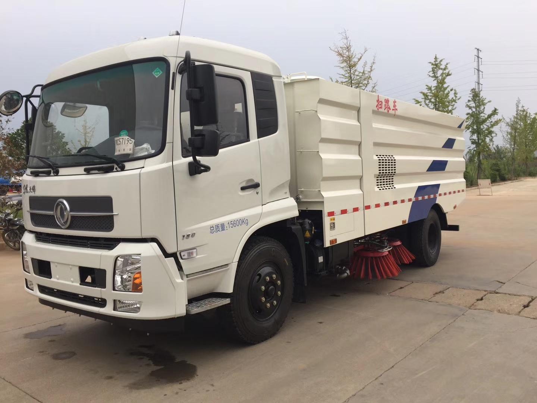东风天锦8吨扫路车高清图片图片