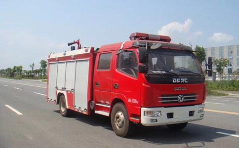水罐消防车图片
