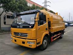 多利卡D7清洗吸污车